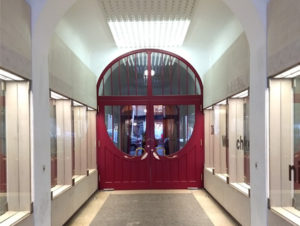 Eingang Schauspielhaus (Foto: TJR)