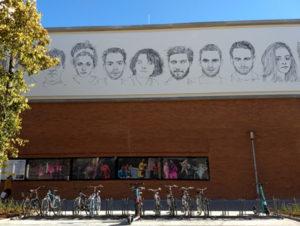 Mit dem Fahrrad ins Volkstheater (Foto:TJR)